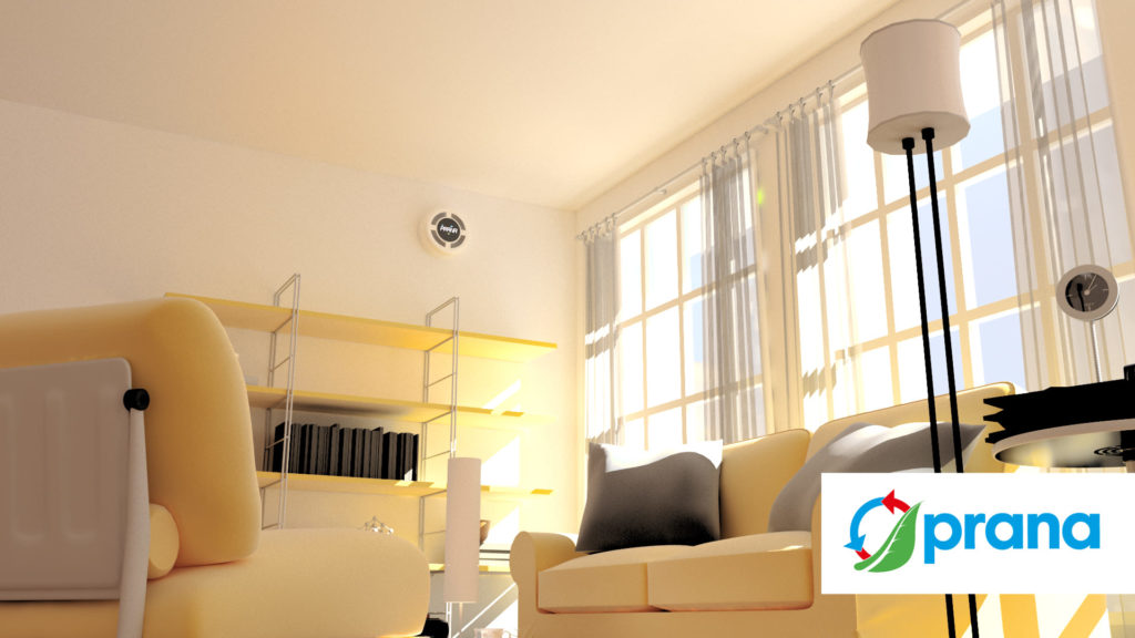 ventilação em casa
